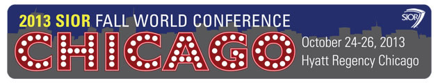 Fall World Conference - Chicago, IL Oct 24-26