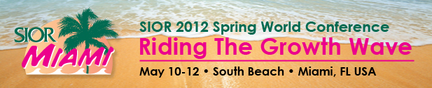 Spring World Conference - Miami, Fl May 10-12
