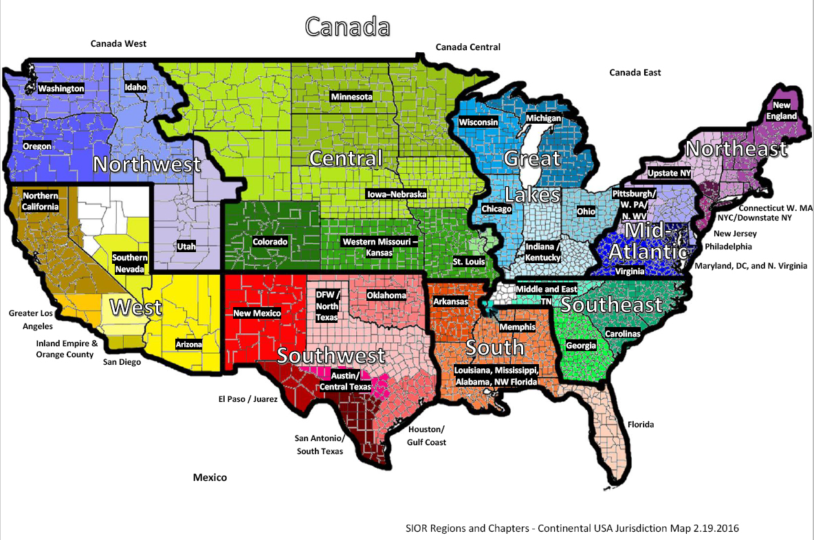 Gsa Regions Map Related Keywords Amp Suggestions  Gsa