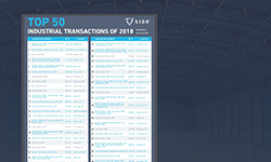 2018 Top 50 industrial transactions thumbnail