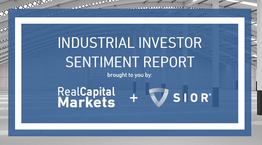 RCM SIOR Industrial investor sentiment report home page banner